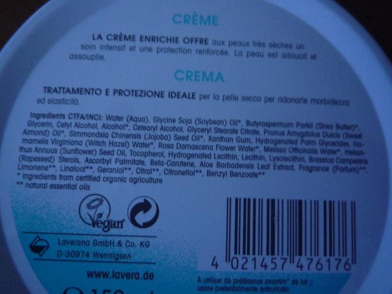 Crème Lavera au beurre de Karité en avant-rasage P1020610