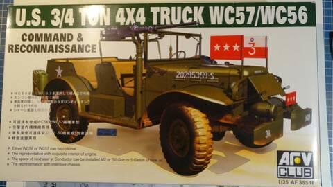 [AFV Club 1/35 - Dodge WC57 Patton Wc57-b10