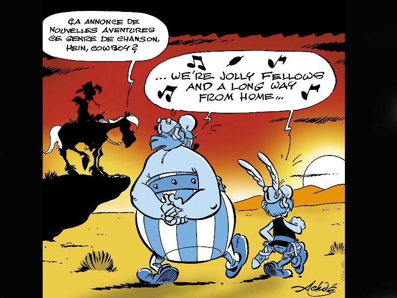 Pastiches, detournements, plagia de vos personnages préférés ! - Page 6 Asteri11