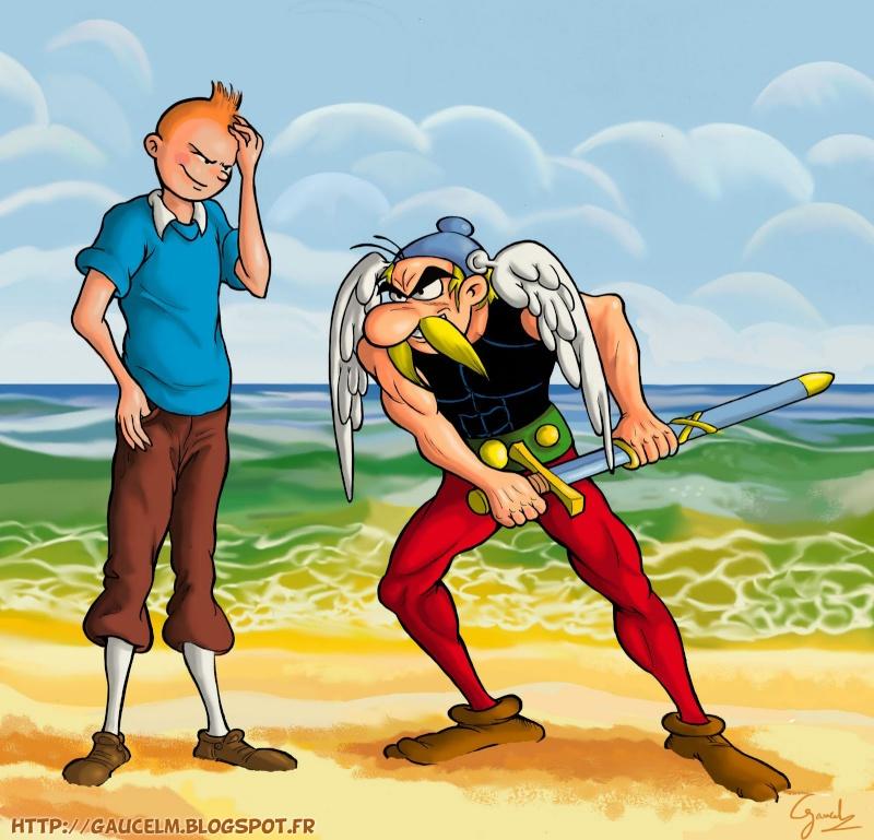 Pastiches, detournements, plagia de vos personnages préférés ! - Page 5 Tintin10