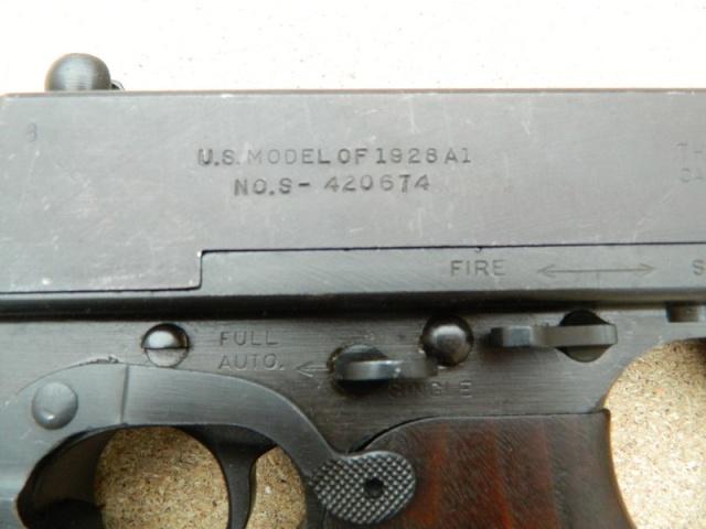 Présentation de ma Thompson 1928 A1 510