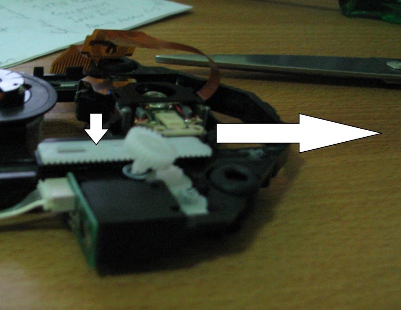 [TUTO] Refaire le bloc optique d'une PS1 SCPH 100x Pousse10