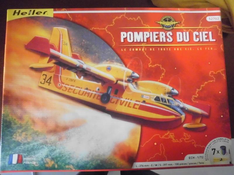 canadair CL215 et CL415 pompier du ciel Cl-41510
