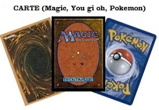 scambio magic you gi oh pokemon