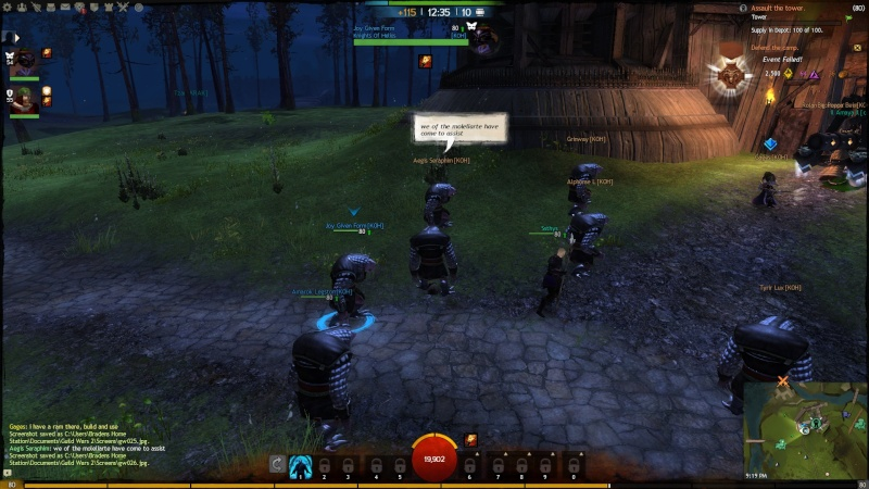 Pictures of Guild Event on 12/22/2012 Gw02710