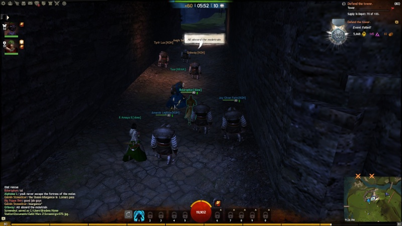 Pictures of Guild Event on 12/22/2012 Gw07110