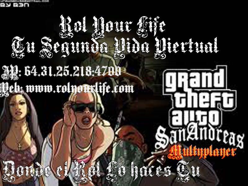 Rol Your Life Forum IP: 64.31.25.218:4700
