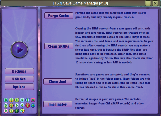 [TS3] Save Game Manager [[BETA]] (New Year Release) Utilit10