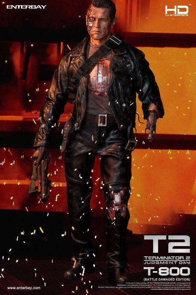 Terminator 2 - T800 Battle Damaged version  16639_10