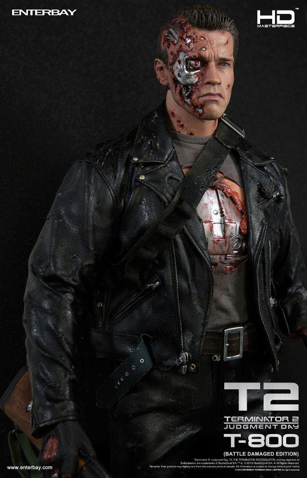 Terminator 2 - T800 Battle Damaged version  28048_10