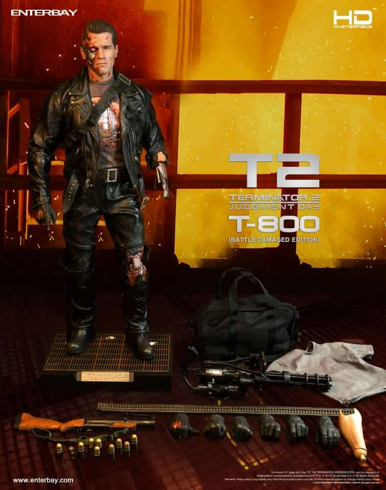 Terminator 2 - T800 Battle Damaged version  52499710