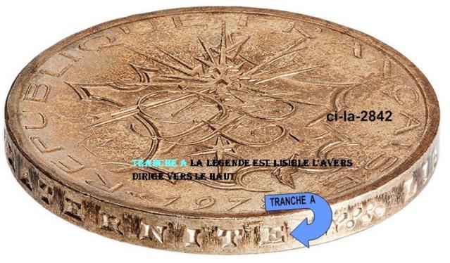 Des monnaies dites tranche A et d'autre tranche B 800px-13