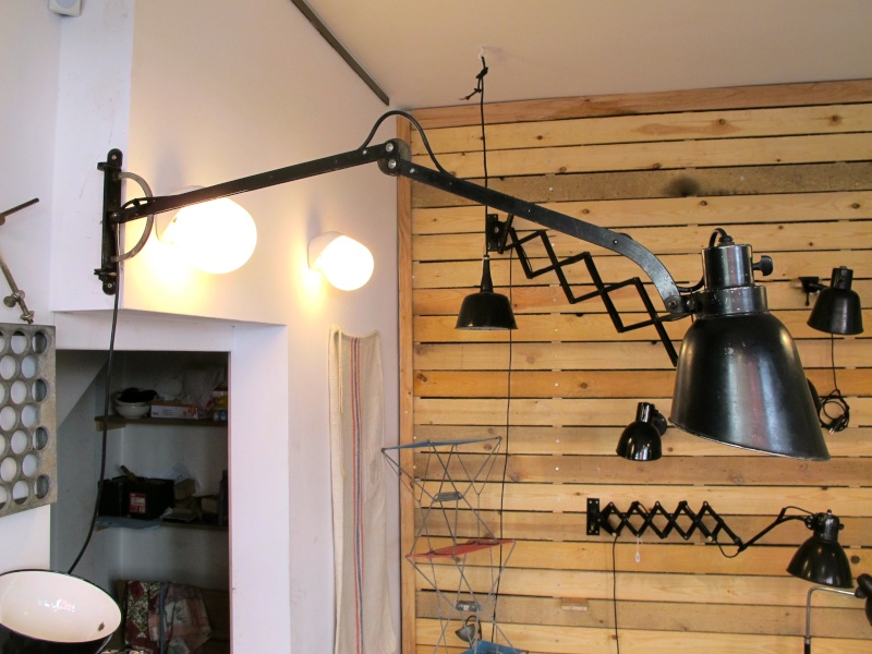 1930s/40s German Desk Lamp With 'S' Logo Img_8710