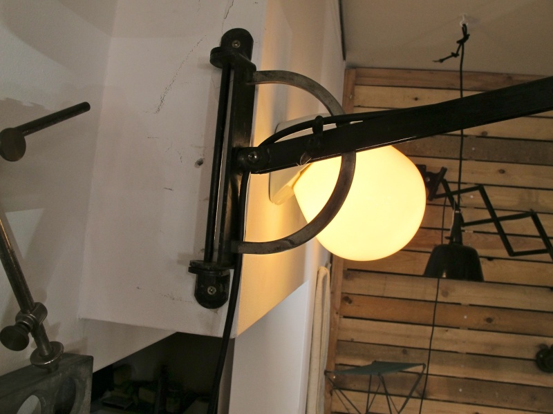 1930s/40s German Desk Lamp With 'S' Logo Img_8711