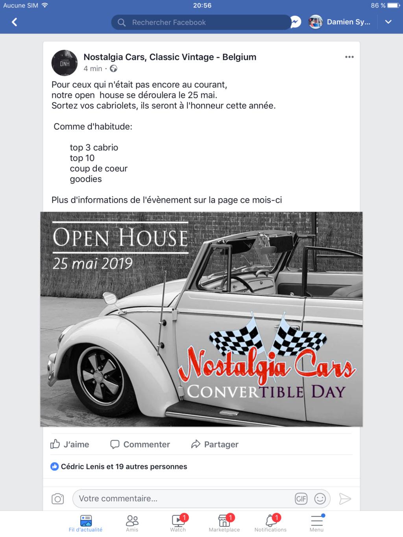 OPEN HOUSE 6 le 25 mai Nostalgia cars  Img_6112