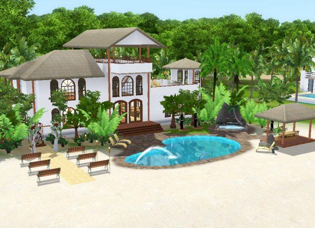 Sunlit Tides - Centre de bien-être Sérénité introuvable Sims3_10