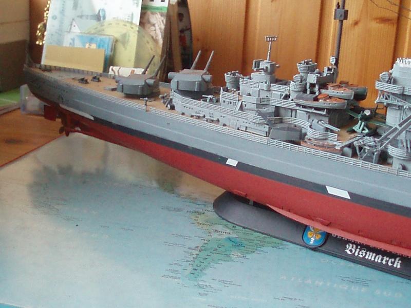 Présentation du Bismarck de chez Revell au 1/350 54610
