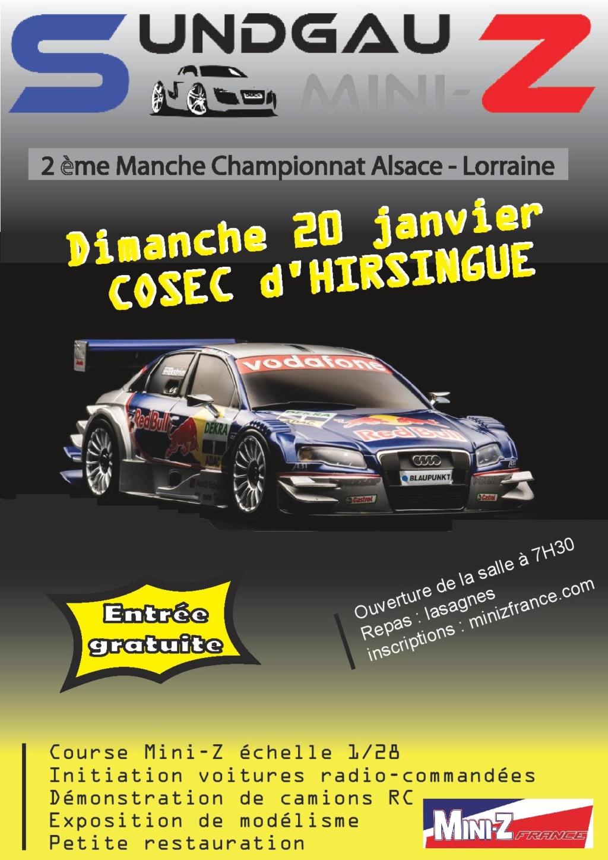 2ème manche du Championnat Alsace - Lorraine à Hirsingue le 20 Janvier 2019 Affich10