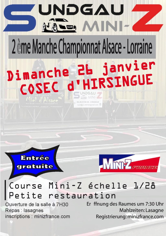 2ème manche du Championnat Alsace - Lorraine à Hirsingue le 26 Janvier 2020 Affich11