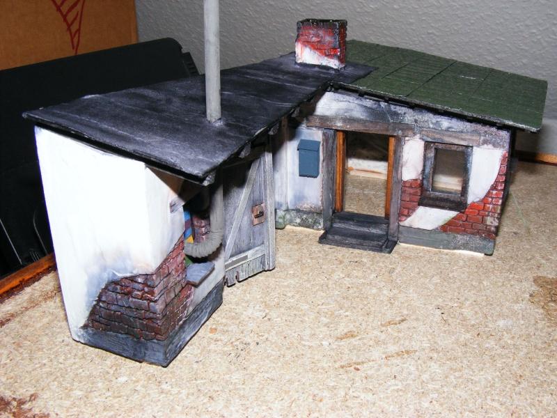 Eine Garage am Rande der Stadt .... Dscf1810