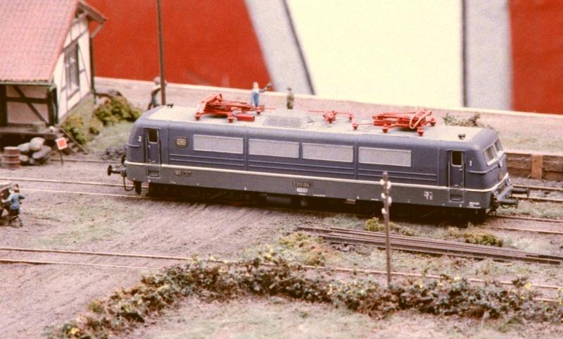 Von nur wenigen im Modell gebaut: Altbau-Eloks E310_010