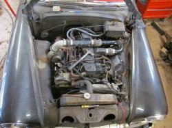 Consommation d'un moteur diesel dans un vieux char 15747710