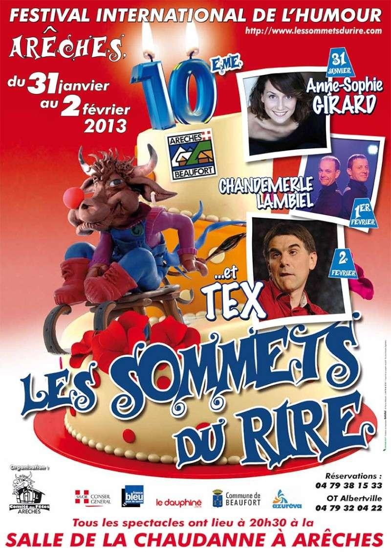 10ème Sommet du Rire d'Arêches-Beaufort - Festival International de l'Humour Sommet10