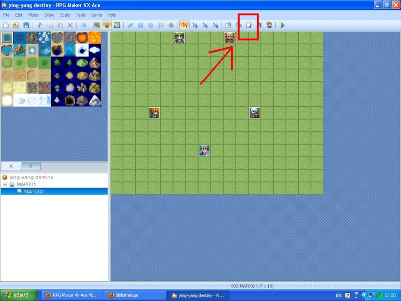 Comment insérer des scripts sous RmvxA Image112