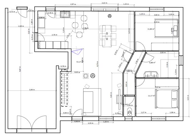 quelle couleur (rideaux, décor, accessoires) pour notre salon SAM cuisine ? Plan11