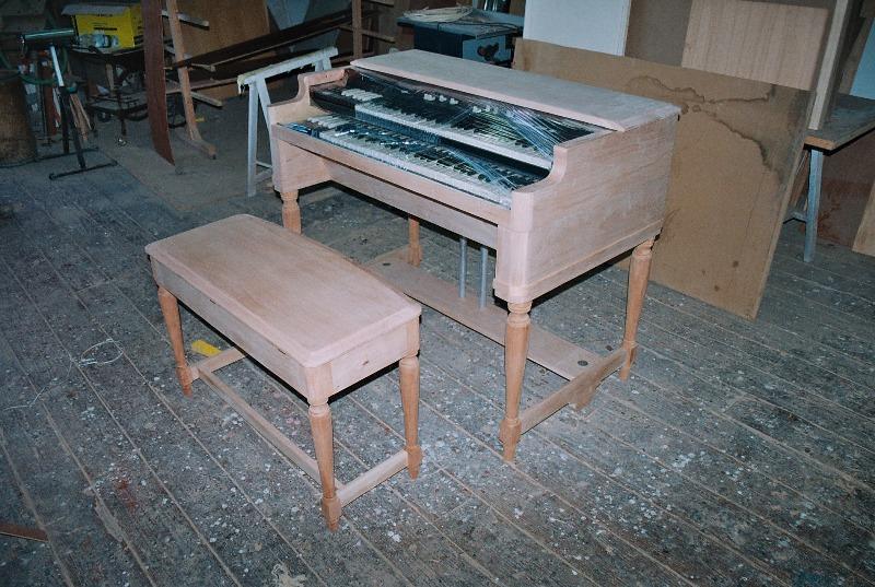 Hammond B3 Orgel im Massstab 1:1 Almost11