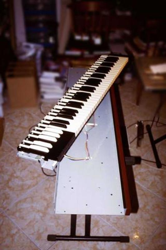 Hammond B3 Orgel im Massstab 1:1 Openin11