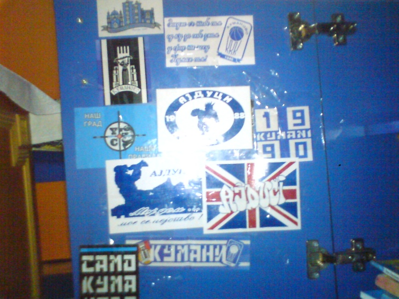 Stickers from your club/country Dndnnd10