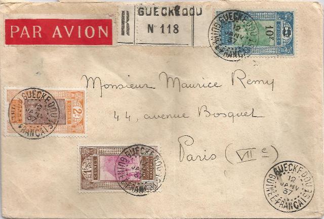 Lettre de Guinée - avec cachets de cire Scan0014