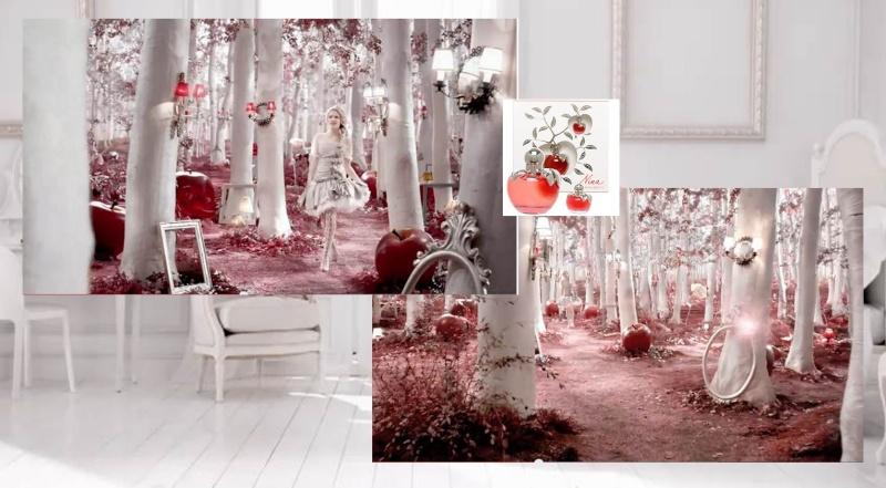 """Inspiration déco: série tv, """"forêt de bouleau"""", baroque noir&blanc, papier peint 9nina_10"""