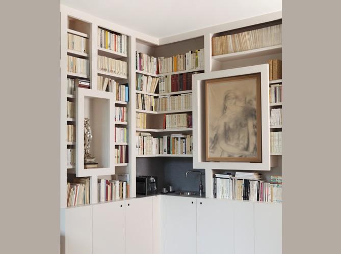 bureaux - bibliothèques & coins lecture Biblio11