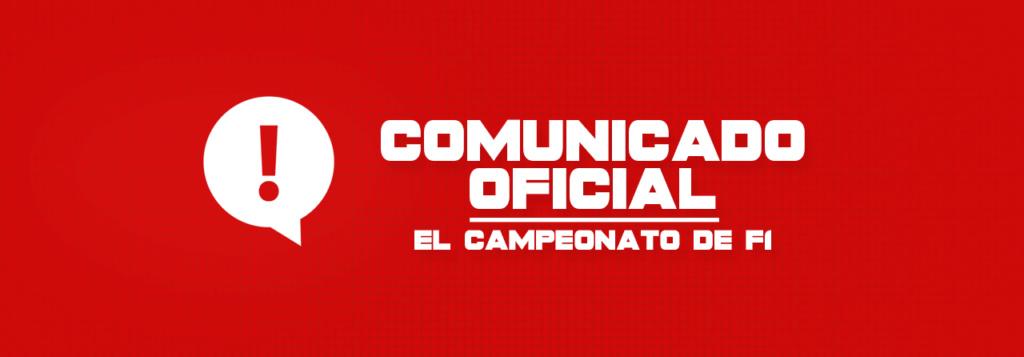 Horario Grandes Premios (13/11/2019) Comuni10