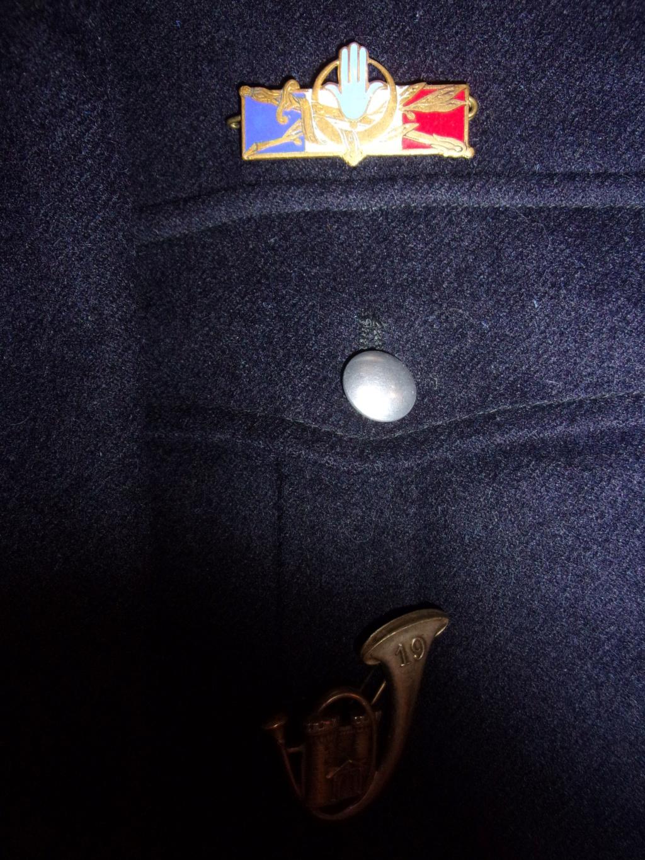 Blouson M46 19ème Régiment de Chasseurs Photo210