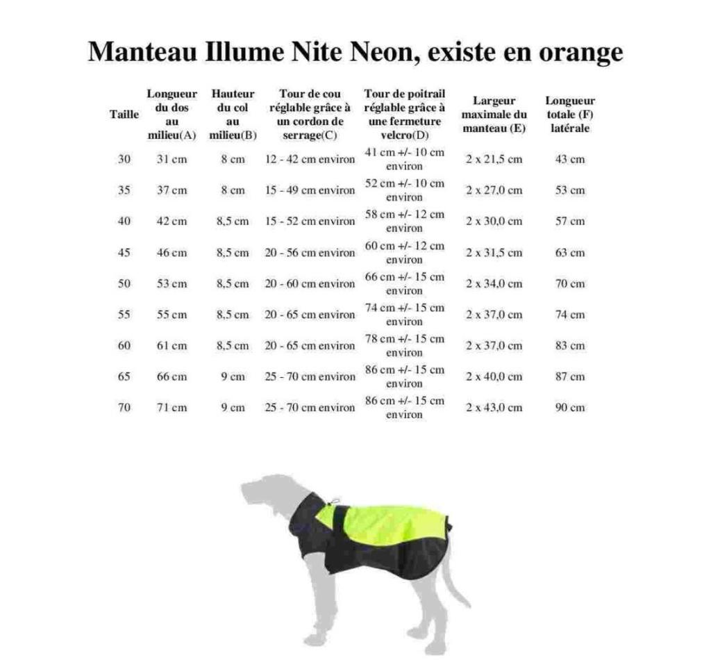 Manteau pour chien : Illume Nite Neon  Ill_10