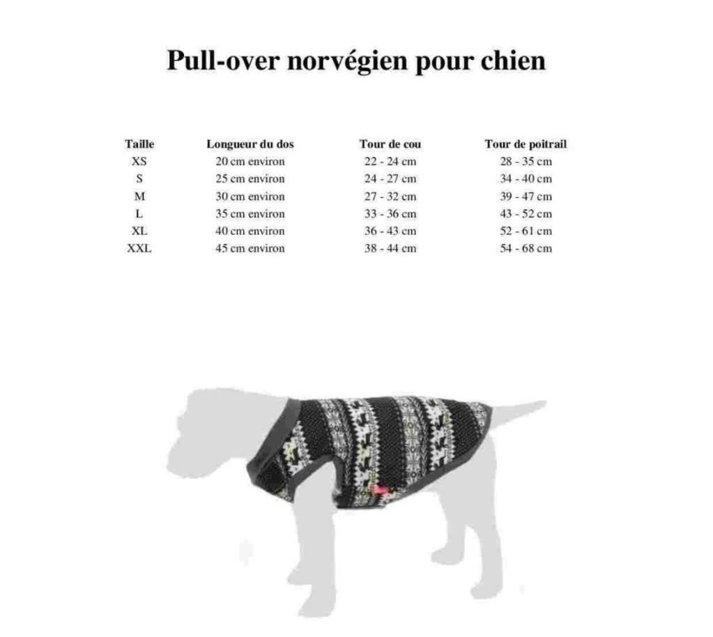 Pull-over pour chien : Norvégien  Norveg10