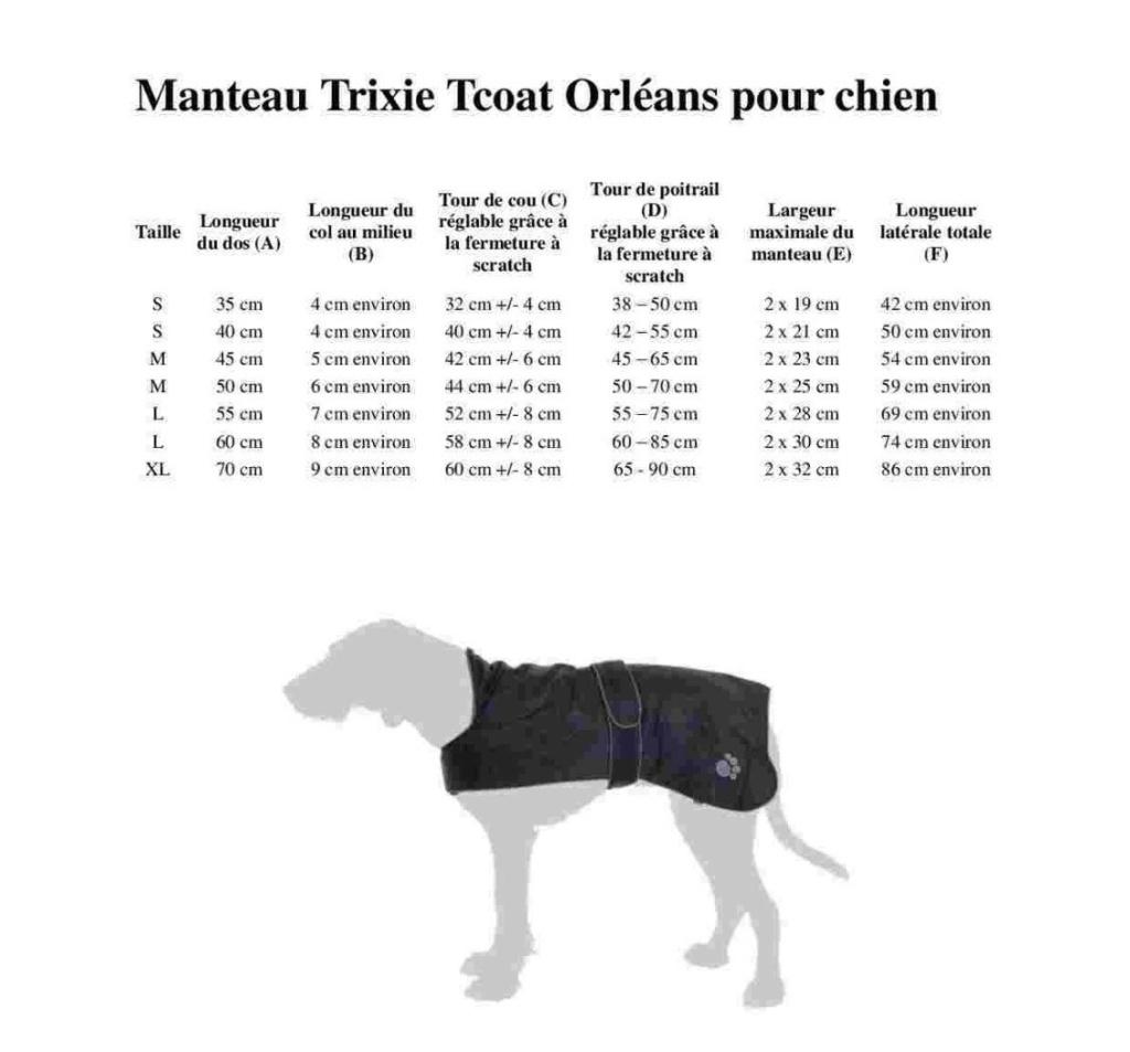 Manteau pour chien : Trixie Tcoat Orléans Trixie10