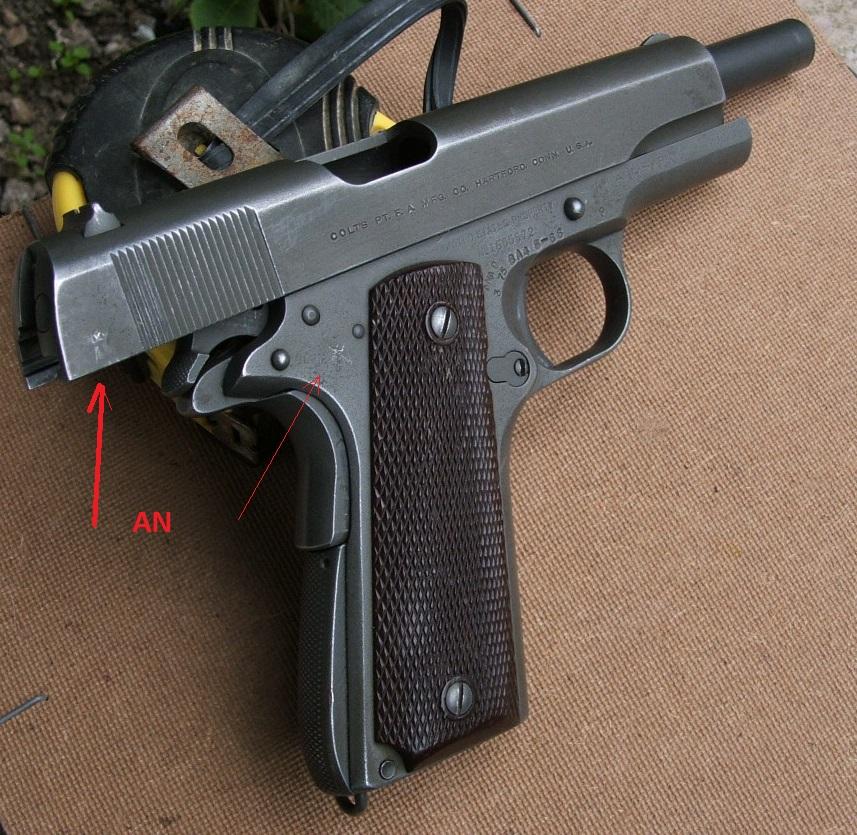 Marquages supplémentaires sur un Colt 1911 M1 Dscf2411