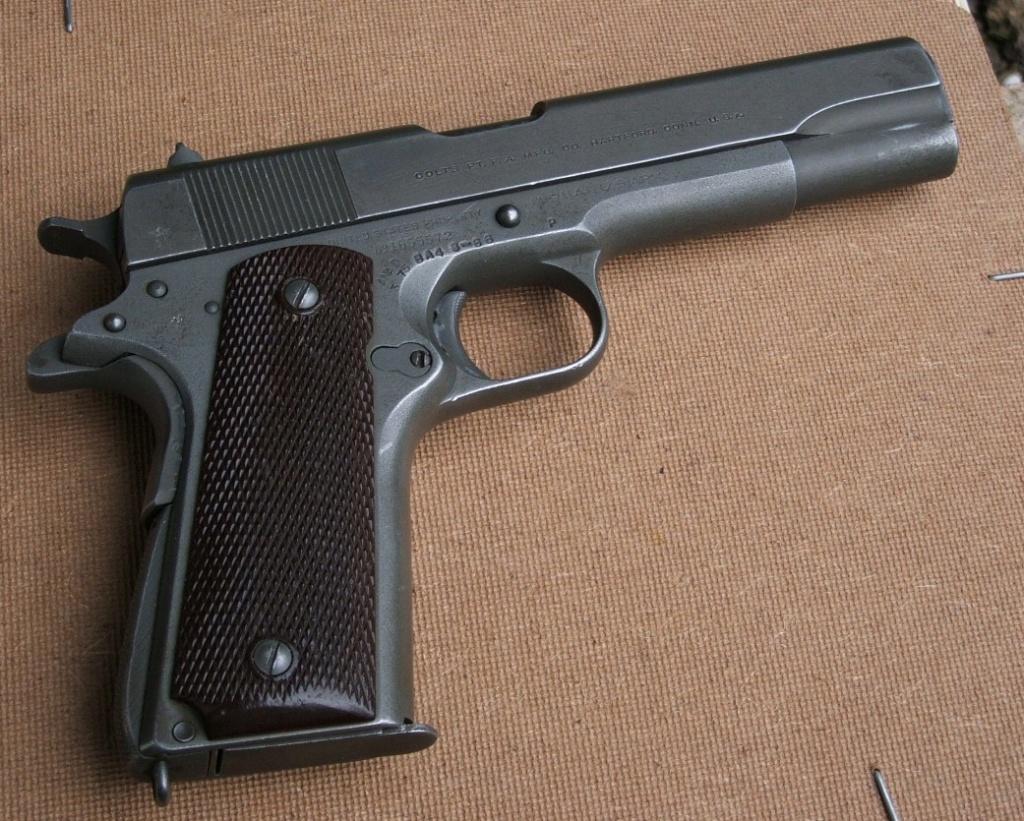 Marquages supplémentaires sur un Colt 1911 M1 Dscf2412