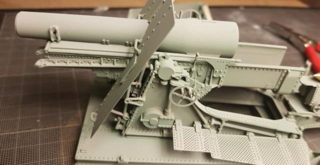 Mortier Schneider de 280mm TR Mle 14, 1/35e U-Model 1010