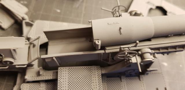 Mortier Schneider de 280mm TR Mle 14, 1/35e U-Model 1110