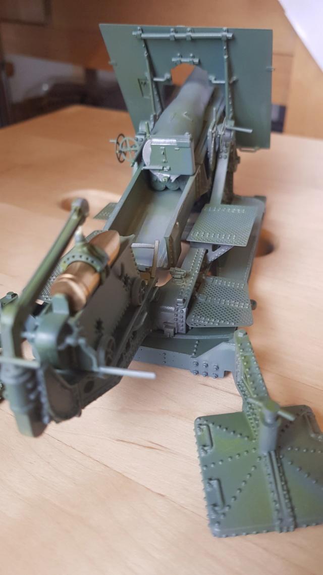 Mortier Schneider de 280mm TR Mle 14, 1/35e U-Model 1410