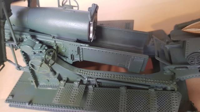 Mortier Schneider de 280mm TR Mle 14, 1/35e U-Model Mo110