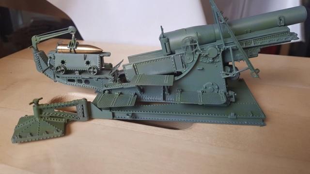 Mortier Schneider de 280mm TR Mle 14, 1/35e U-Model Mo210