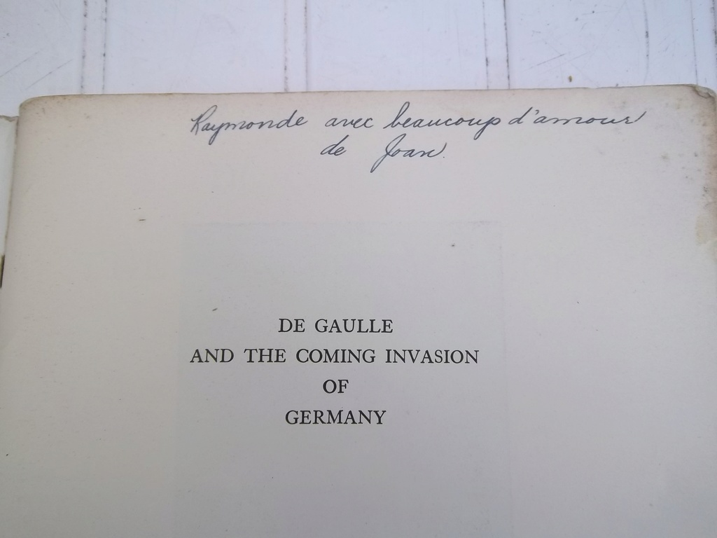 DE GAULLE and the coming invasion of germany  100_1410