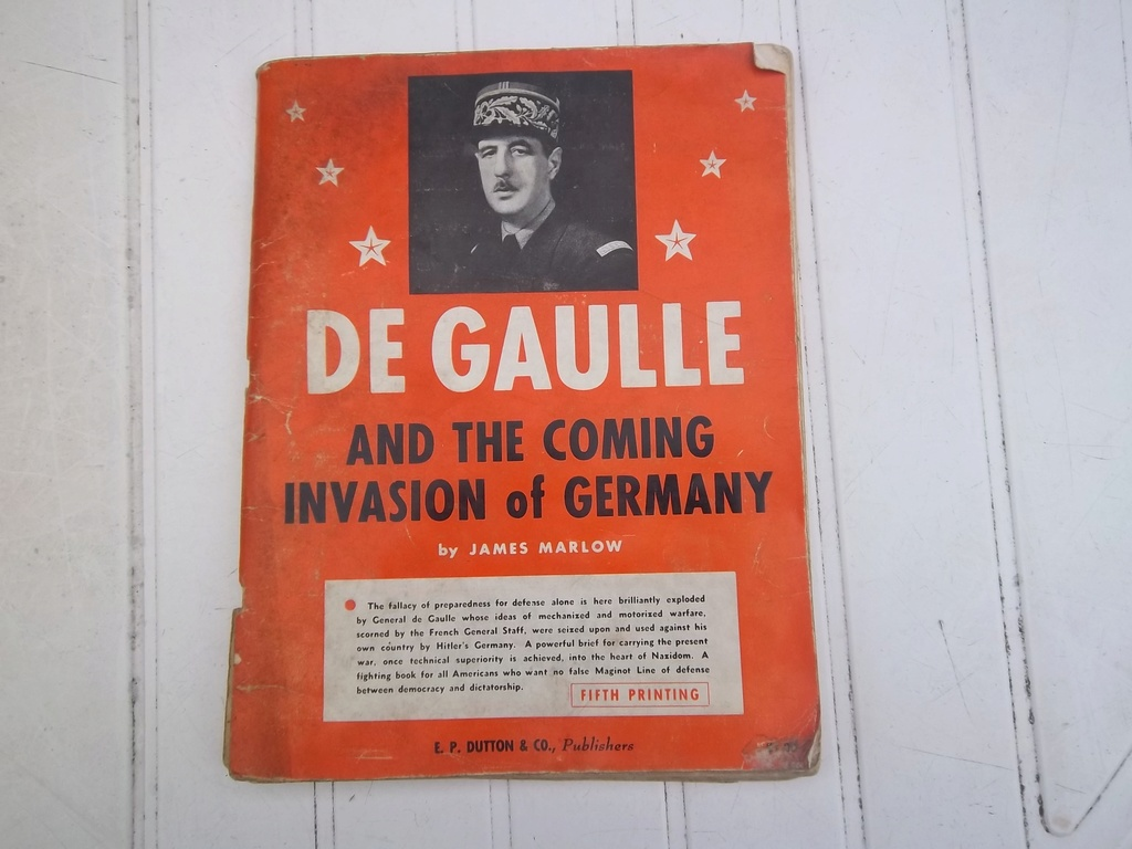 DE GAULLE and the coming invasion of germany  100_1412