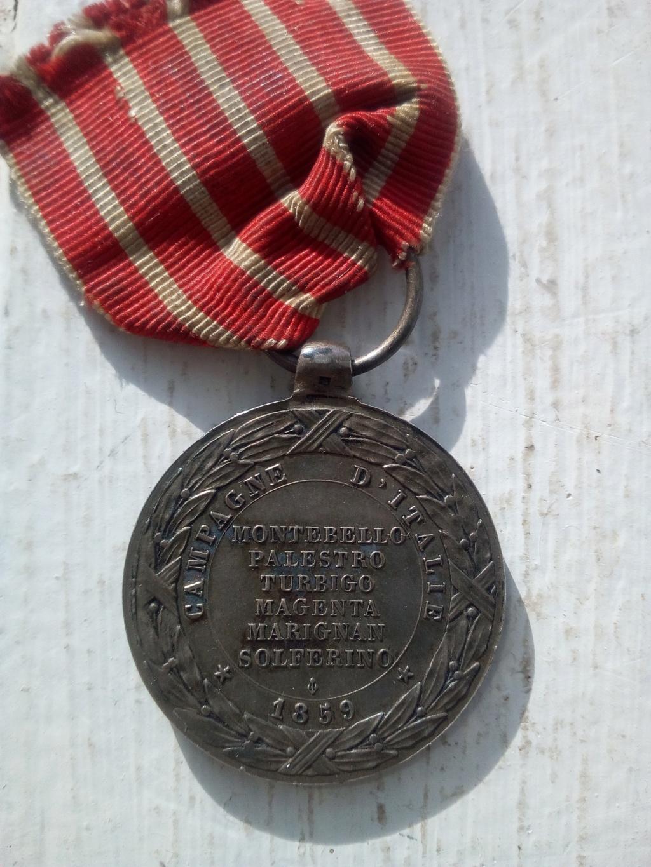 Medaille Campagne d'Italie  Bis10